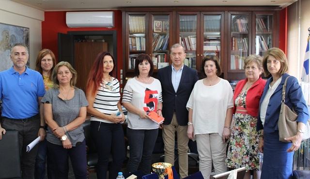 Στην Περιφέρεια Θεσσαλίας η Γ.Γ. Ισότητας των Φύλων, Φωτεινή Κούβελα