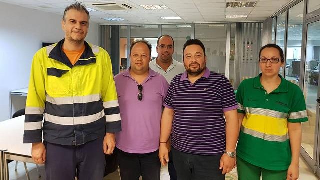 Συνάντηση του Συνδέσμου Ηλεκτρολόγων Μαγνησίας με τον Διευθυντή της ΑΓΕΤ στον Βόλο