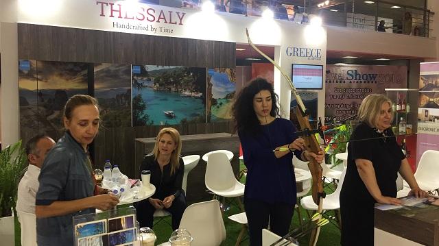 Προβολή της Θεσσαλίας στην τουριστική έκθεση Greek Travel Show 2018