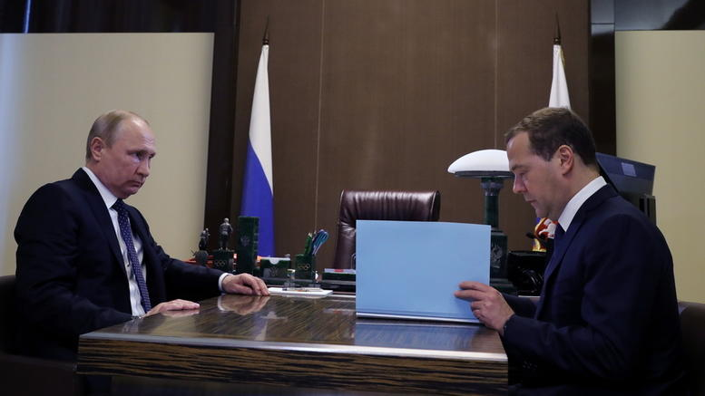 Χωρίς εκπλήξεις η νέα ρωσική κυβέρνηση