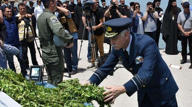Εκδηλώσεις Μνήμης για τον Σμηναγό Κωνσταντίνο Ηλιάκη που έπεσε στο καθήκον [photos]