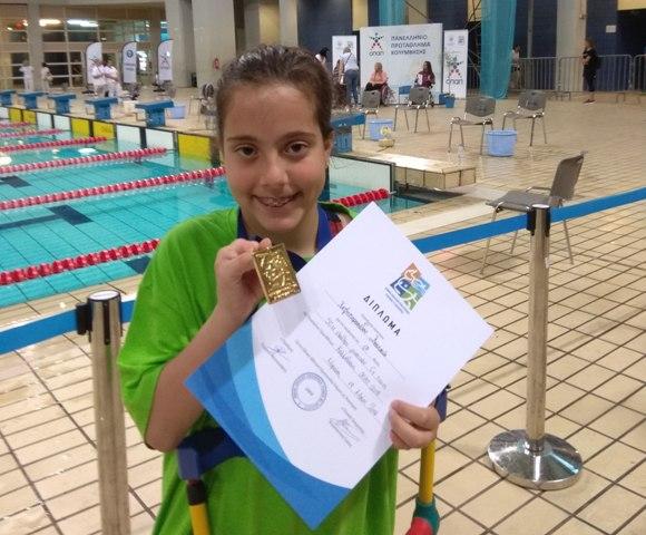 11χρονη Βολιώτισσα σπάει τα χρονόμετρα