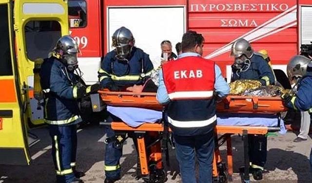 Σοκαριστικό εργατικό ατύχημα λίγο έξω από τη Λάρισα: 32χρονος εγκλωβίστηκε σε μηχάνημα κοπής