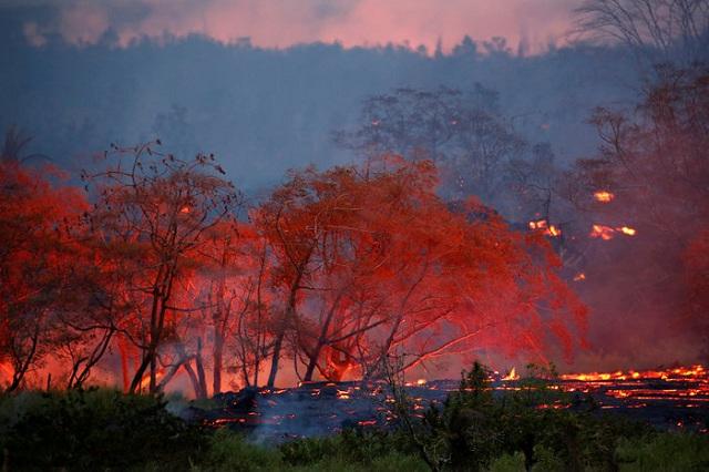 Σκηνές αποκάλυψης στη Χαβάη από ηφαίστειο [εικόνες]
