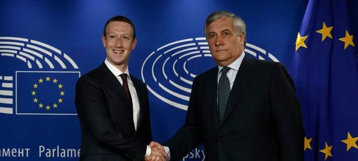 Ο Ζούκερμπεργκ έδωσε εξηγήσεις στο Ευρωκοινοβούλιο για το σκάνδαλο Facebook