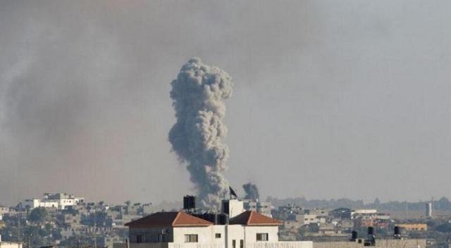 Επίθεση του Ισραήλ κατά της Χαμάς στη Γάζα