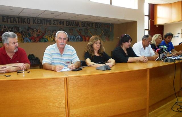 Σύσκεψη σωματείων του ΠΑΜΕ για την οργάνωση της απεργίας της 30ης Μαΐου