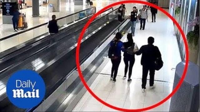 Απήγαγαν τουρίστρια σε αεροδρόμιο της Ταϊλάνδης και δεν το κατάλαβε κανείς [βίντεο]
