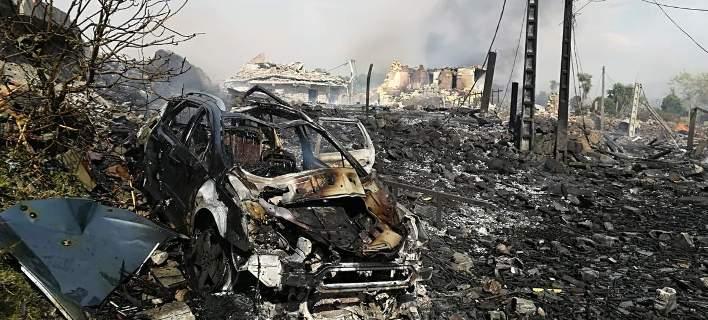 Ισπανία: Εκρηξη σε αποθήκη πυροτεχνημάτων -Ενας νεκρός και 27 τραυματίες [εικόνες]