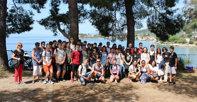 Μαθητές 4 ευρωπαϊκών χωρών στο Γυμνάσιο Αγριάς