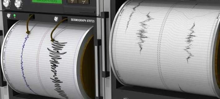 Πέντε σεισμικές δονήσεις τη νύχτα στις Β. Σποράδες
