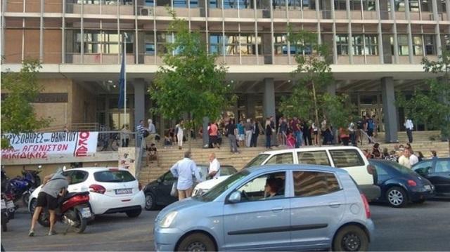 Κρεμάστηκε άντρας στο Δικαστικό Μέγαρο Θεσσαλονίκης