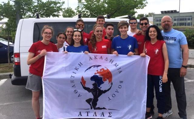 Η Αθλητική Ακαδημία Ατλας Βόλου 1η στη Μαγνησία