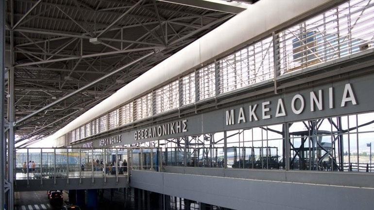 Προβλήματα με τις πτήσεις στο αεροδρόμιο «Μακεδονία» εξαιτίας της καταιγίδας