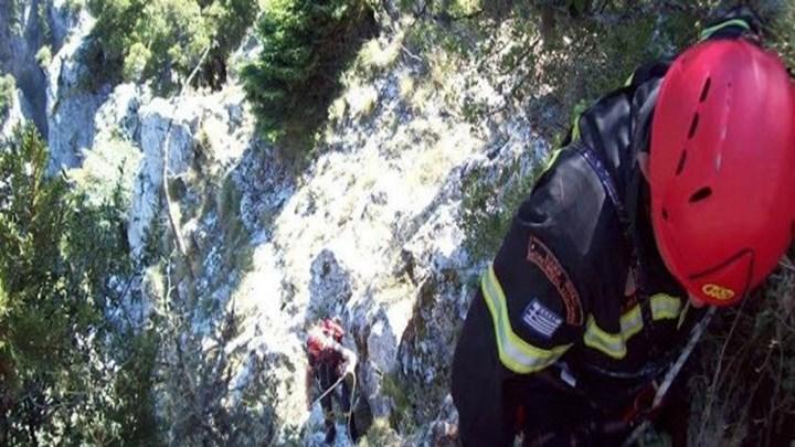 Τουρίστρια έπεσε σε γκρεμό βάθους 10 μέτρων