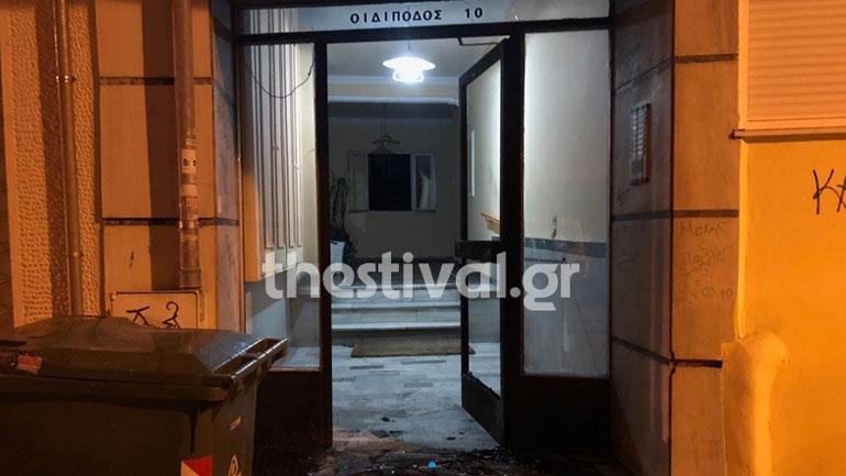 Έκρηξη αυτοσχέδιου εκρηκτικού μηχανισμού σε πολυκατοικία στην Άνω Πόλη