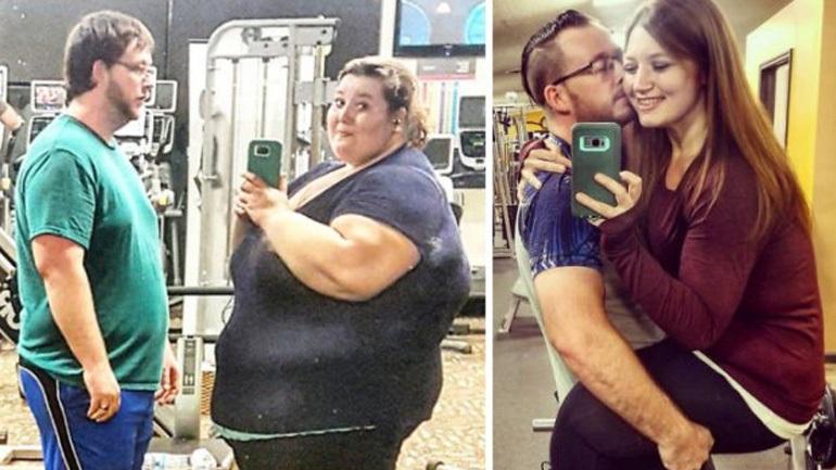 Γυναίκα έχασε 140 κιλά και τράβηξε ξανά τις παλιές φωτογραφίες