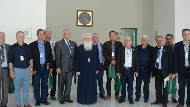 Έφεδροι αξιωματικοί από την Κύπρο στον Μητροπολίτη