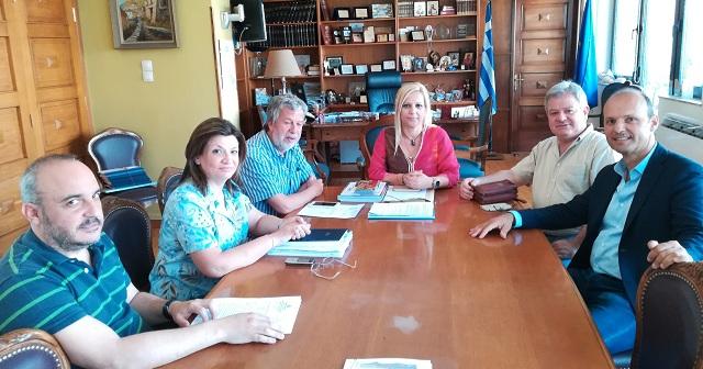 Συνάντηση Δ. Κολυνδρίνη με τον διευθυντή Δευτεροβάθμιας Εκπαίδευσης