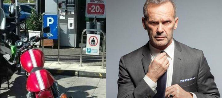 Έξαλλος ο Κωστόπουλος: Η απάντηση του για τη φωτογραφία με το παρκάρισμα σε θέση ΑΜΕΑ