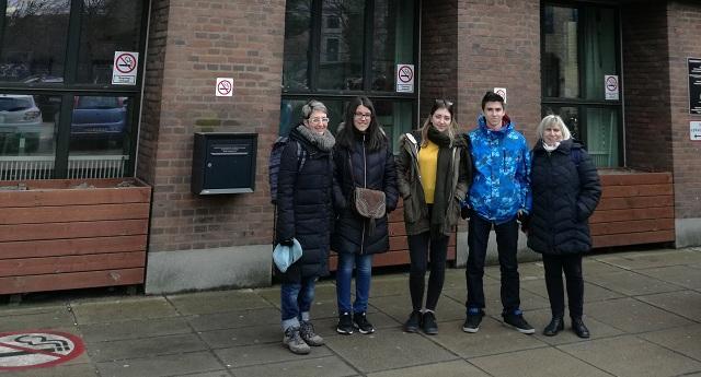 Μαθητές και καθηγητές του ΓΕΛ Αγριάς στην Κοπεγχάγη