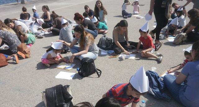 Συνεργασία φοιτητών και μαθητών στο πλαίσιο πολιτιστικού προγράμματος
