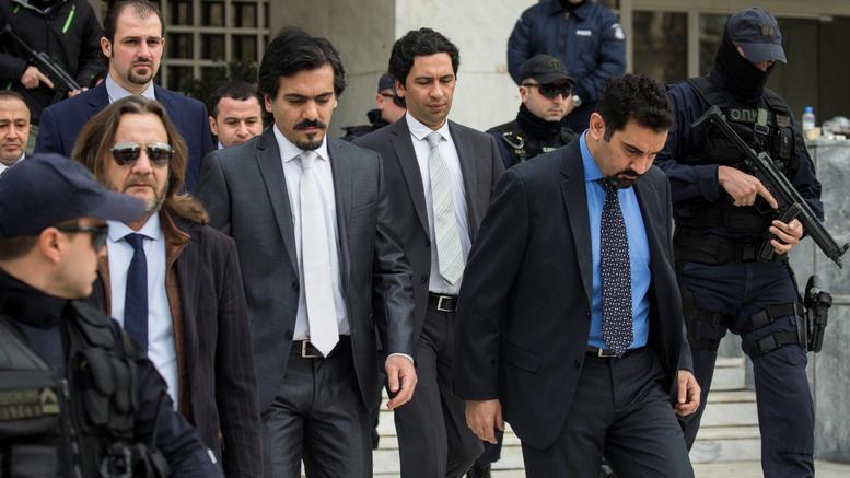 Ελεύθεροι και οι τελευταίοι τέσσερις Τούρκοι στρατιωτικοί