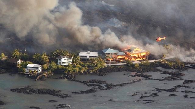 Τουλάχιστον 600 σπίτια καταστράφηκαν από τη λάβα του ηφαιστείου Κιλαουέα στη Χαβάη