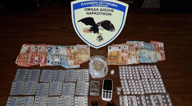 Συνελήφθησαν την ώρα που πουλούσαν ναρκωτικά στα Τρίκαλα