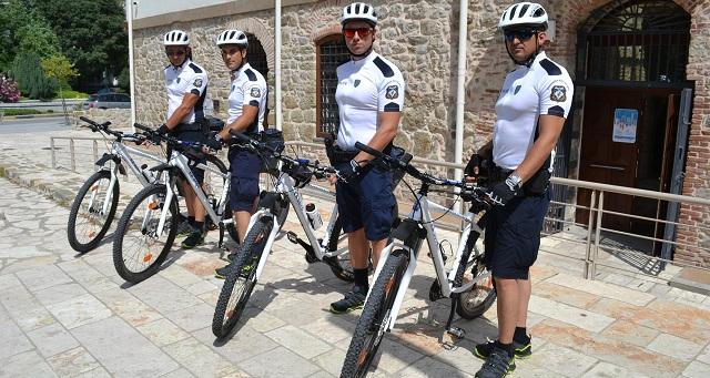 Αστυνόμευση με ποδήλατα στα Τρίκαλα