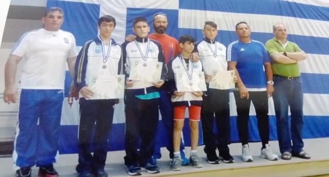 4 μετάλλια για τον ΠΑΟΒ στη Λάρισα