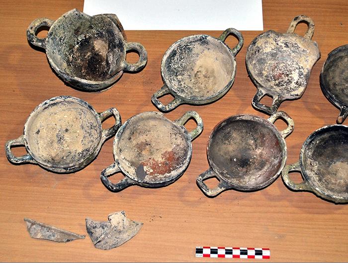 Βρέθηκε αμύθητος αρχαίος θησαυρός του 5 π.Χ. αιώνα, μετά από φωτιά στη Φθιώτιδα