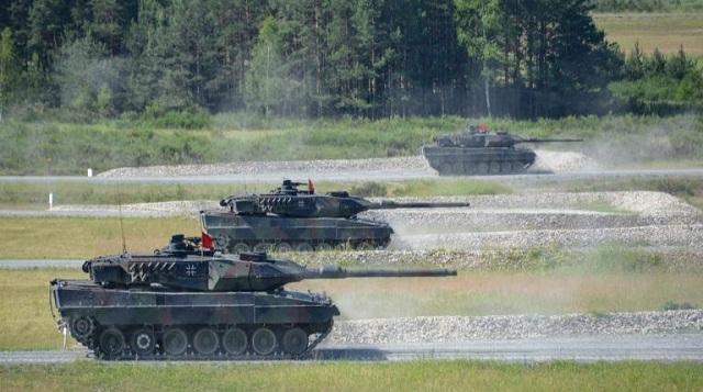 Ηχηρό μήνυμα του ΝΑΤΟ προς την Ρωσία μέσα από την μεγάλη αρματομαχία