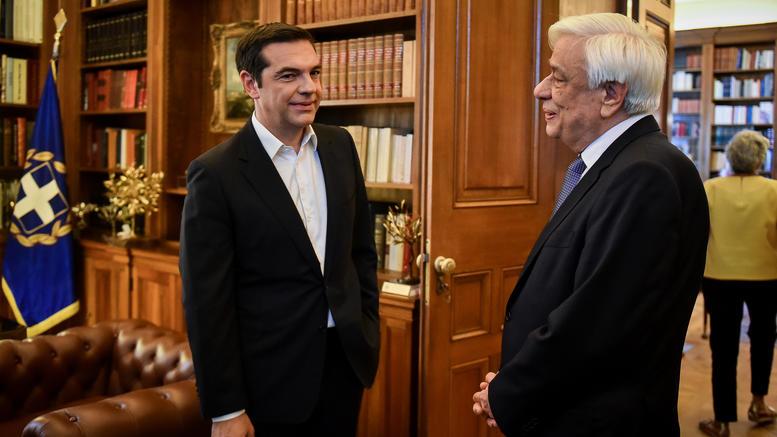 Τσίπρας σε Παυλόπουλο: Εχουμε συμφωνία Ελλάδας -ΠΓΔΜ