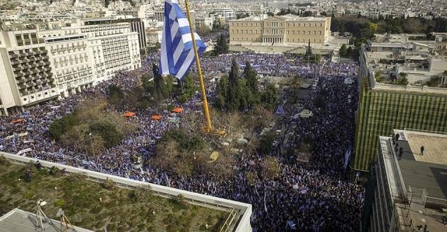 Στο συλλαλητήριο της Αθήνας οι Μακεδόνες του Βόλου