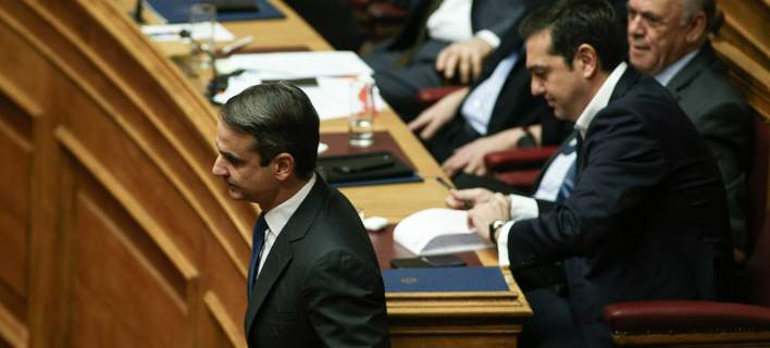 Σύγκρουση κυβέρνησης-ΝΔ στη Βουλή, με φόντο το Σκοπιανό