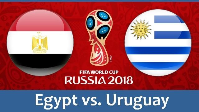 Στις 3μ.μ. Αίγυπτος - Ουρουγουάη