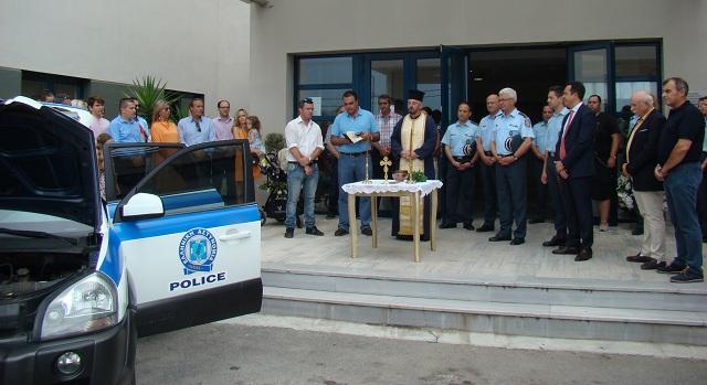 Δωρεά τζιπ 4Χ4 στην Αστυνομία
