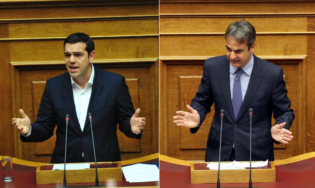 Καταψηφίστηκε η πρόταση μομφής του Μητσοτάκη