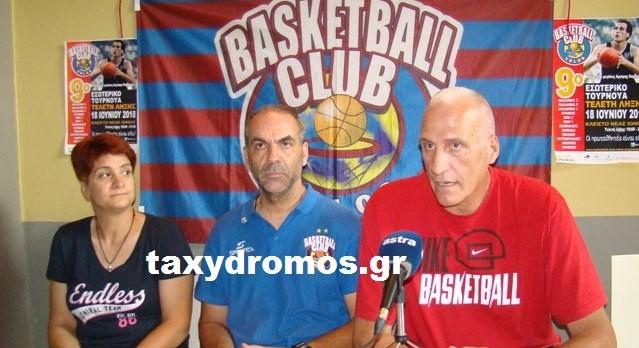 Ο θρύλος του ελληνικού μπάσκετ Αργύρης Καμπούρης στον Βόλο