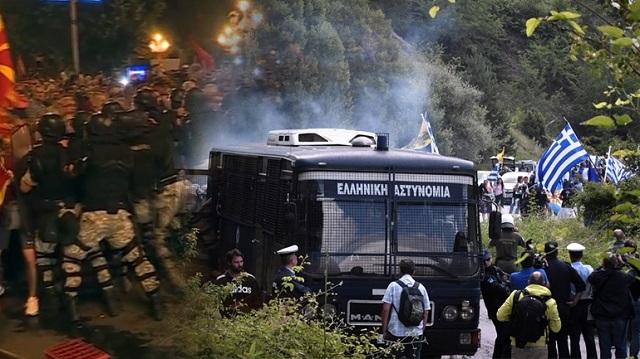 Σοβαρά επεισόδια στα Σκόπια για τη συμφωνία [εικόνες-βίντεο]