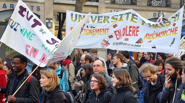 Στα 5 εκατ. ευρώ ανέρχονται οι ζημίες από τις καταλήψεις των γαλλικών πανεπιστημίων