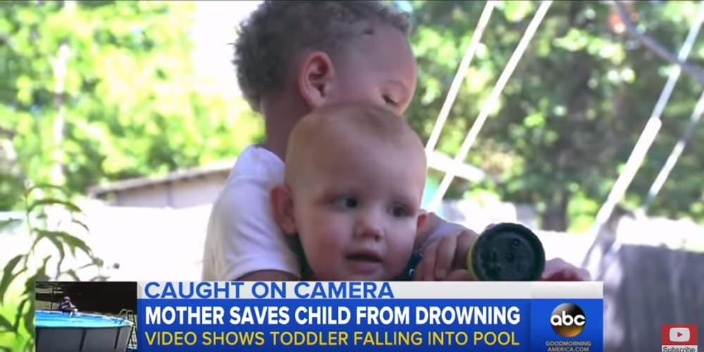 Συγκλονιστικό βίντεο: Η στιγμή που μωρό 17 μηνών επανέρχεται από πνιγμό