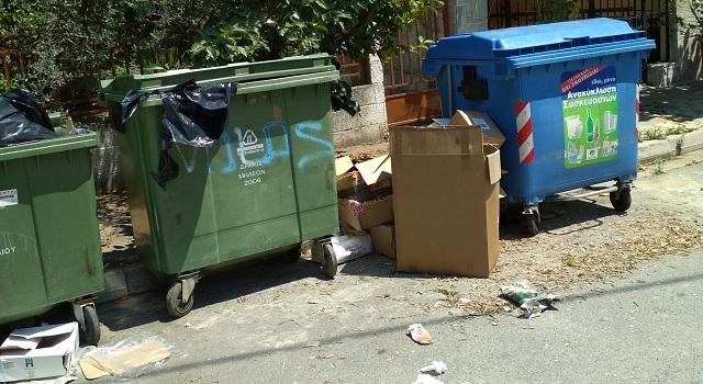 Συνεχόμενες διαμαρτυρίες για τα σκουπίδια στα Καλά Νερά