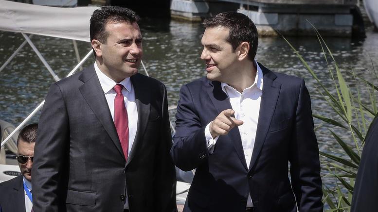 Στη Βουλή της ΠΓΔΜ η συμφωνία Τσίπρα-Ζάεφ