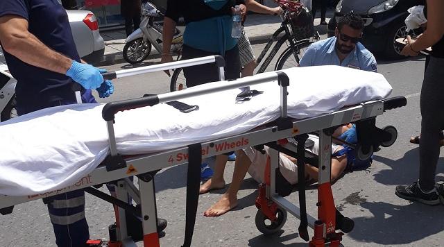 Πτώση ποδηλάτισσας στη Ν. Ιωνία και τραυματισμός