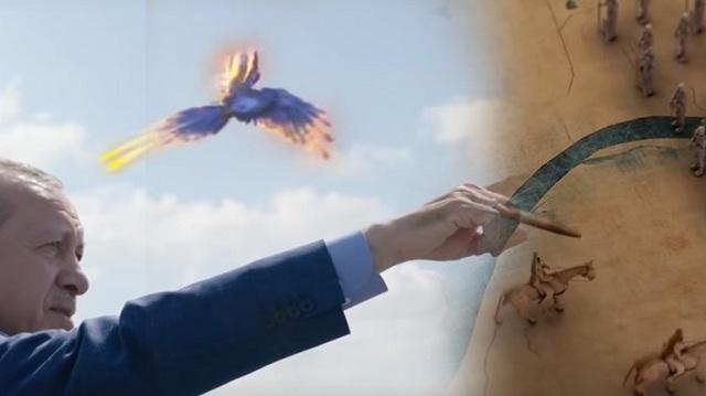 Νέο προεκλογικό σποτ -υπερπαραγωγή από τον Ερντογάν [βίντεο]