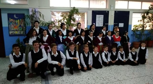 Το παιδικό τμήμα του Πολιτιστικού Συλλόγου Κεραμιδίου στην Ξάνθη