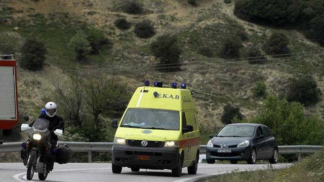 Σοβαρό τροχαίο στο Ηράκλειο με τον τραυματισμό δύο παιδιών