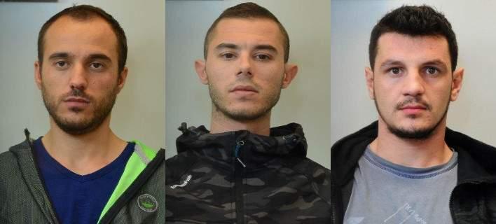 Αυτοί είναι οι τρεις Αλβανοί κακοποιοί που δραπέτευσαν από το ΑΤ Αργυρούπολης [εικόνες]